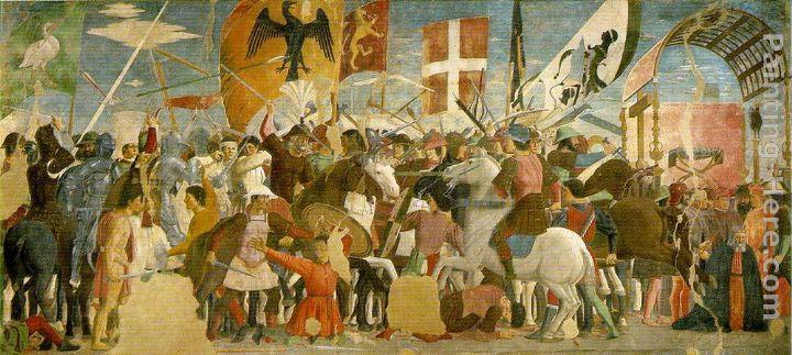 Piero della Francesca Battle between Heraclius and Chosroes