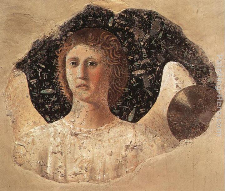 Piero della Francesca Head of an Angel