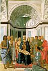 Piero della Francesca - Madonna and Child with Saints (Montefeltro Altarpiece)