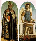 Piero della Francesca Polyptych of Saint Augustine painting