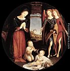 Piero di Cosimo - The Adoration of the Christ Child