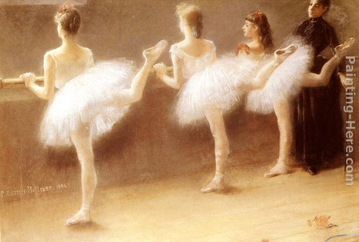 Pierre Carrier-Belleuse At The Barre