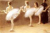 Pierre Carrier-Belleuse - At The Barre
