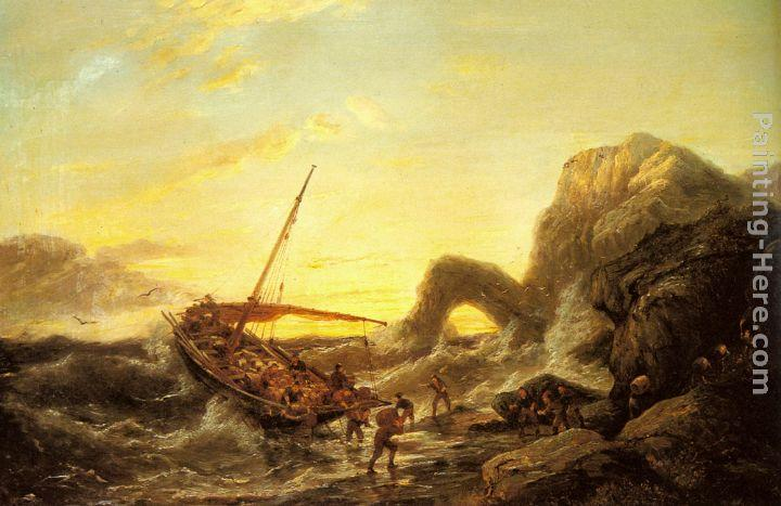 Pieter Christian Dommerson The Shipwreck