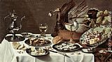Famous Pie Paintings - Still Life with Turkey Pie
