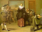 Pieter Codde - The Meagre Company