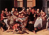 Pieter Pourbus Last Supper painting