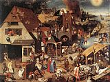 Pieter the Younger Brueghel - Proverbs