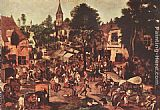 Pieter the Younger Brueghel - Village Feast