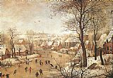 Pieter the Younger Brueghel - Winter Landscape with a Bird-trap