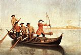 Pietro Longhi - Duck Hunters on the Lagoon