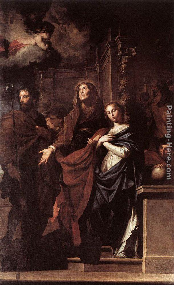 Pietro Novelli Marriage of the Virgin