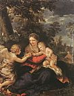 Pietro da Cortona - Holy Family Resting on the Flight to Egypt
