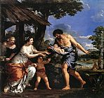 Pietro da Cortona - Romulus and Remus Given Shelter by Faustulus
