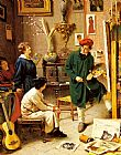 Pompeo Massani - The Artist's Studio
