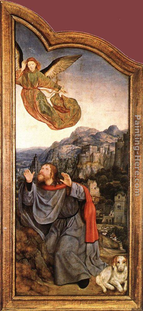 Quentin Massys St Anne Altarpiece (left wing)