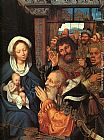 Quentin Massys The Adoration of the Magi painting