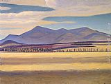 Mount Canvas Paintings - Mount Whiteface Asgaard