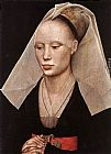 Rogier Van Der Weyden Famous Paintings - Portrait of a Lady