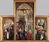 Rogier Van Der Weyden Famous Paintings - Seven Sacraments
