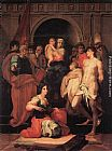 Rosso Fiorentino - Madonna Enthroned and Ten Saints