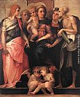 Rosso Fiorentino - Madonna Enthroned with Four Saints