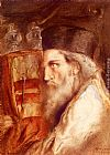 Simeon Solomon - A Rabbi Holding The Torah