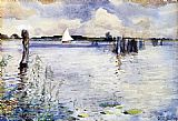 Sir Alfred James Munnings - Barton Broad