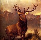 Sir Edwin Henry Landseer - Monarch Of The Glen