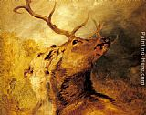Sir Edwin Henry Landseer - Stag and Hound
