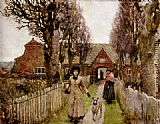 Sir George Clausen - Gaywood Almshouses, Kings-Lynn, 1881