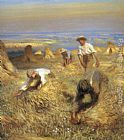 Sir George Clausen - Harvesting the Sheaves