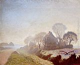 Sir George Clausen - Morning In November