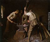 Sir George Clausen - Our Blacksmith