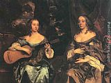 Sir Peter Lely - Two Ladies of the Lake Family