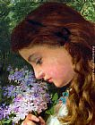 Sophie Gengembre Anderson - Girl With Lilac