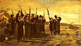 Stanislaus von Chlebowski Polish Insurrectionists of the 1863 Rebellion painting