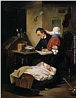 Theodor Alexander Weber - The Busy Father
