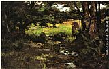 Theodore Clement Steele - Brook in Woods