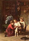 Theophile-Emmanuel Duverger - The Patient Pet