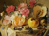 Theude Gronland - Still life with autumn fruits