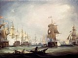 Thomas Buttersworth - The Battle Of Trafalgar, 1805