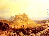 Thomas Ender - The Acropolis, Athens