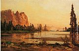 Famous Lake Paintings - Crescent Lake