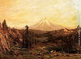 Thomas Hill Mount Shasta and Castle Lake, California painting