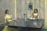 Thomas Wilmer Dewing - A Reading