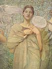 Thomas Wilmer Dewing - The Days detail
