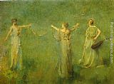 Thomas Wilmer Dewing - The Garland