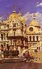 Marco Canvas Paintings - Piazza San Marco