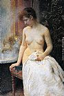 Vlaho Bukovac - In the Bath